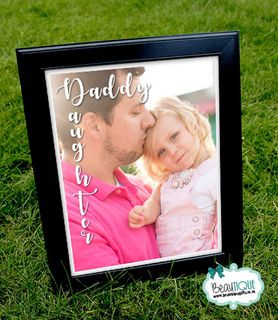Daddy Daughter Print