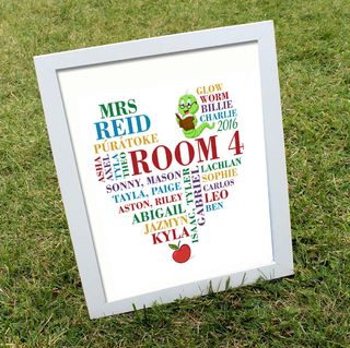 Personalised CLASSROOM Print