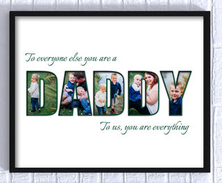 Personalised DADDY Print