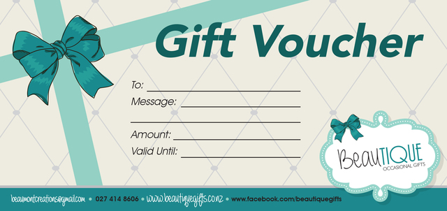 Beautique Gift Voucher