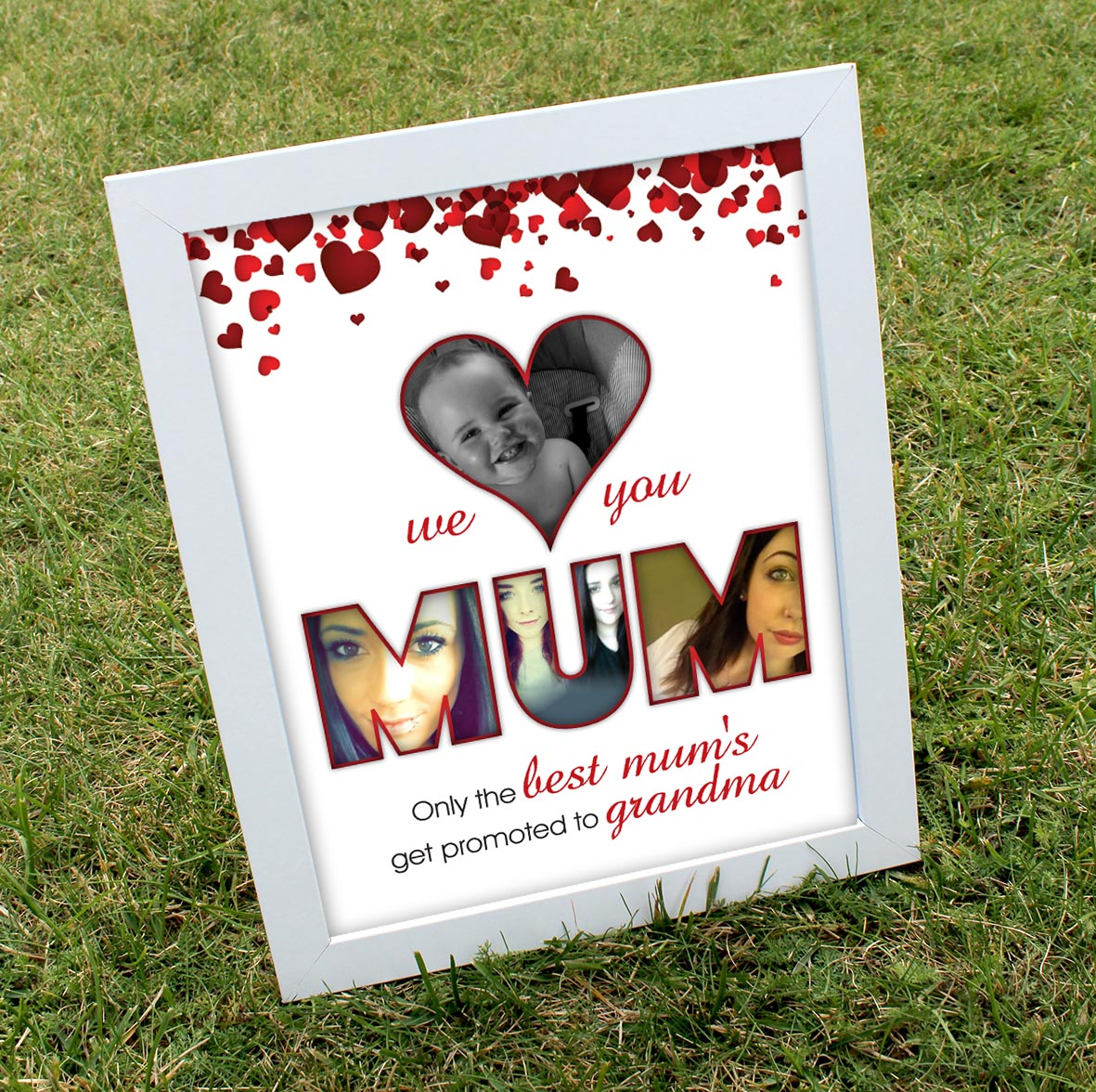 We love you MUM print
